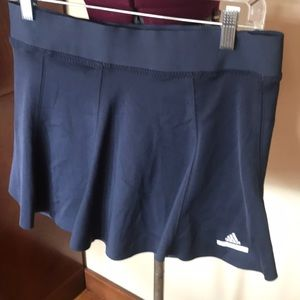 Stella McCartney for Adidas Blue Tennis Skirt L